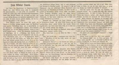 Article on Mons Tautin. the elder. (Photo: Archive Kurt Gänzl)