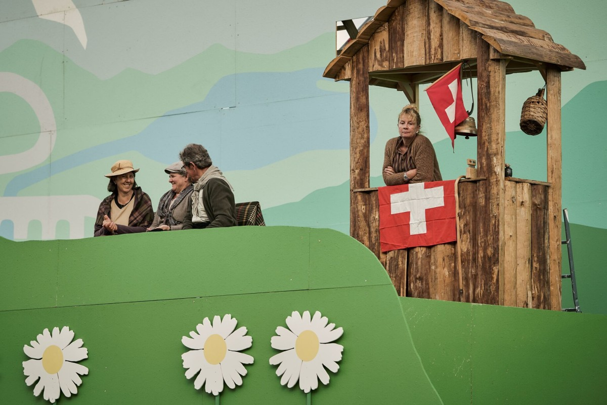 "The ""Grüezi"" production at Bühne Burgäschi, 2019."