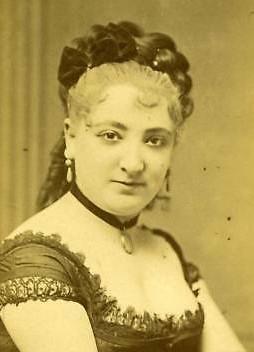 Offenbach's early star performer Lise Tautin. (Photo: Archive Kurt Gänzl)