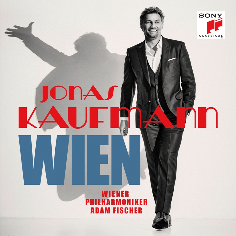 "The cover for ""Jonas Kaufmann Wien,"" which will be released in October 2019. (Photo: Sony)"