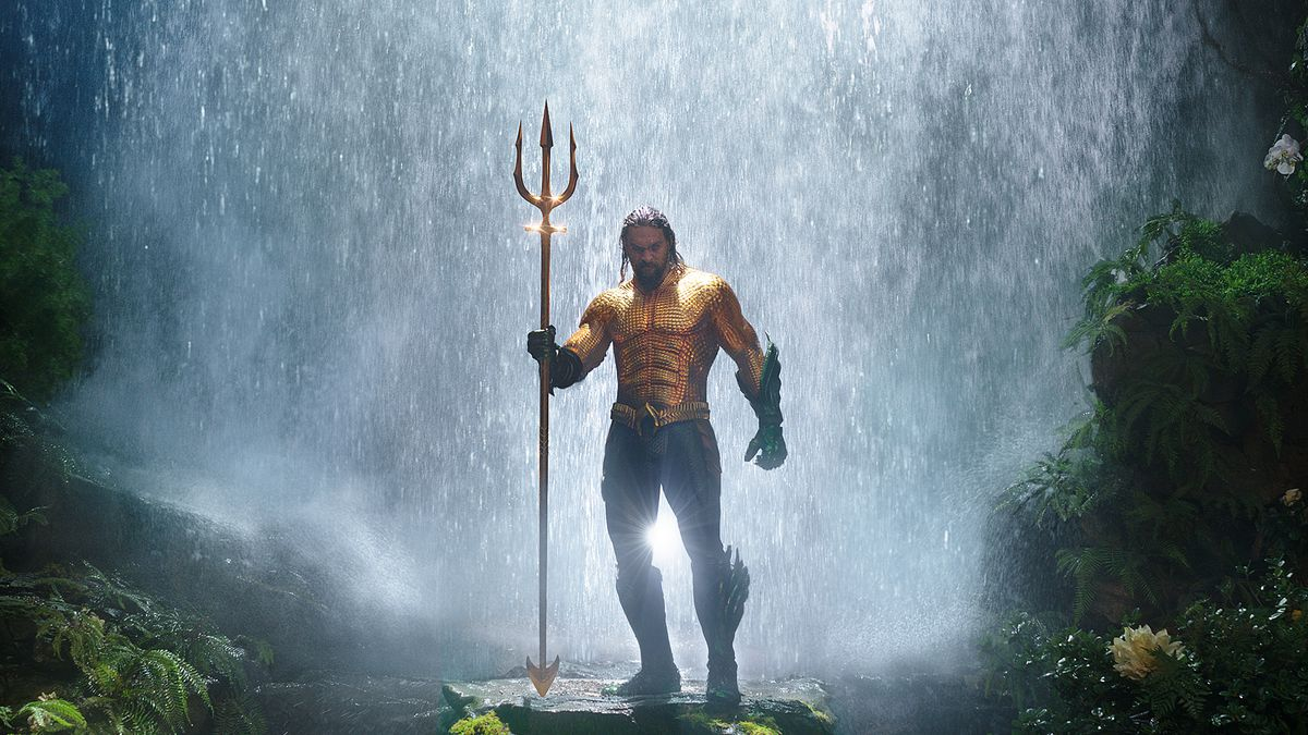 "Jason Momoa as ""Aquaman"" in the 2018 movie version. (Photo: Warner Bros. Pictures)"