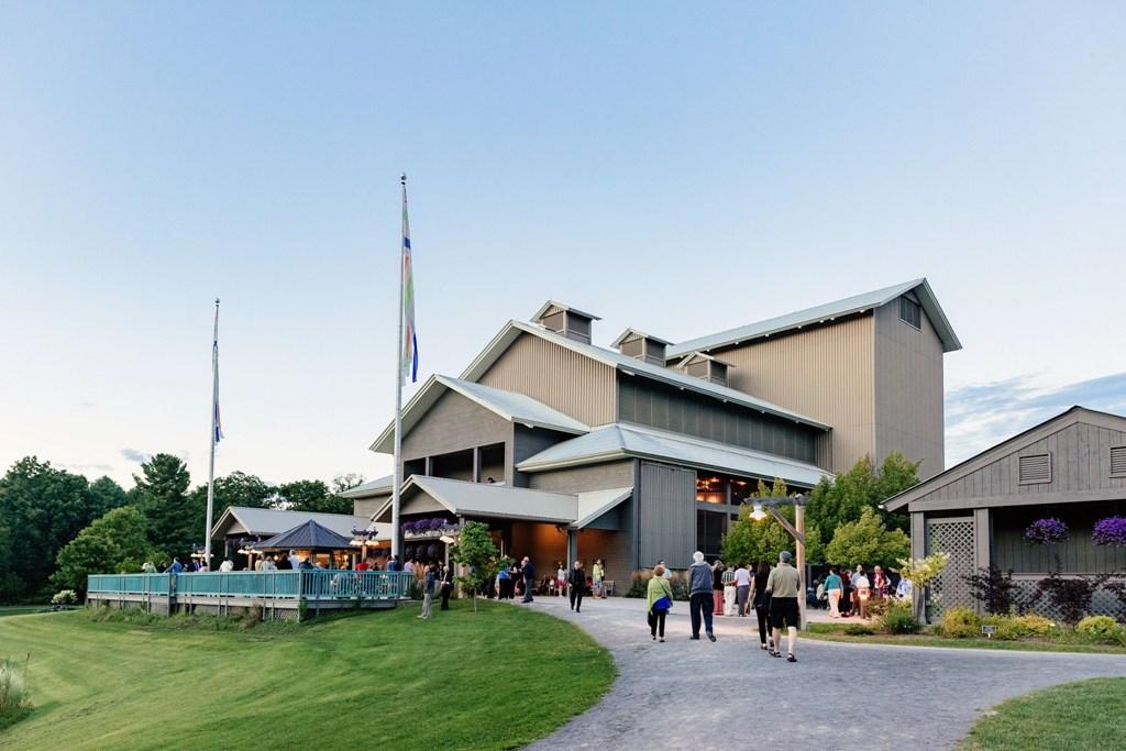 The Glimmerglass Festival and main theater. (Photo: Karli Cadel / Glimmerglas Opera)