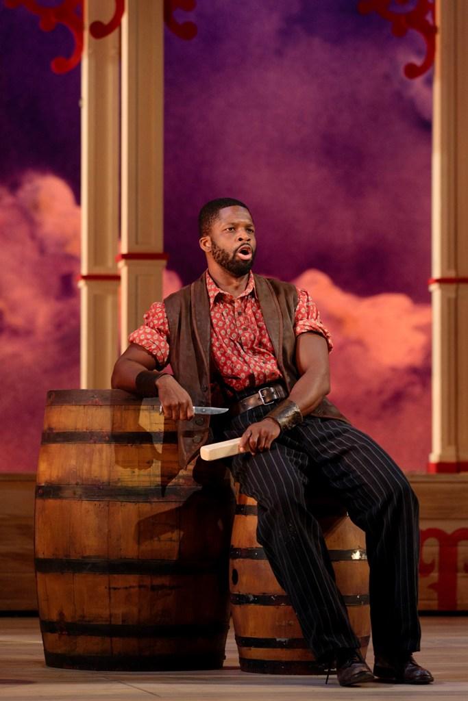 "Justin Hopkins as Joe in ""Showboat"" at Glimmerglas Opera, 2019. (Photo: Karli Cadel / Glimmerglas Opera)"
