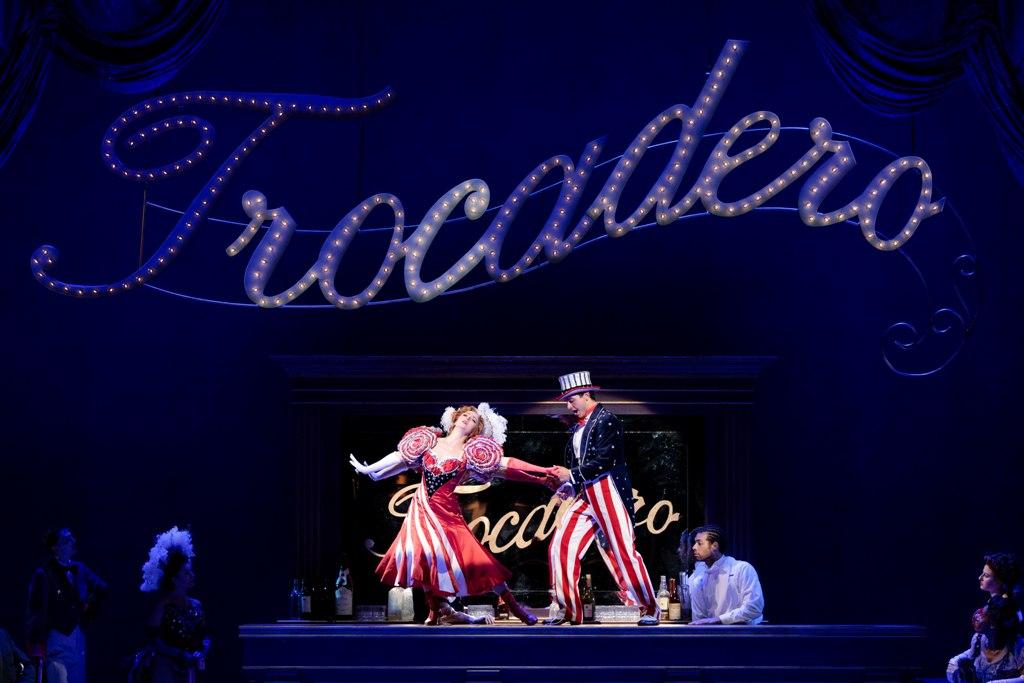 "The Trocadero section in ""Showboat"" at Glimmerglas Opera, 2019. (Photo: Karli Cadel / Glimmerglas Opera)"