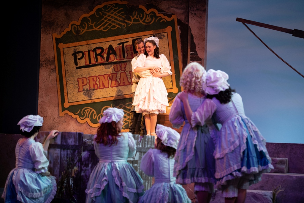 "Scene from ""Pirates of Penzance"" at Ohio Light Opera, 2019. (Photo: Matt Dilyard)"