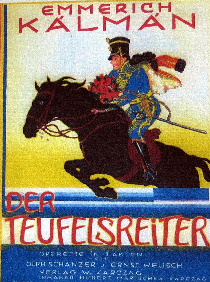 "The cover of the original 1932 vocal score for ""Teufelsreiter."" (Photo: Archive Operetta Research Center)"