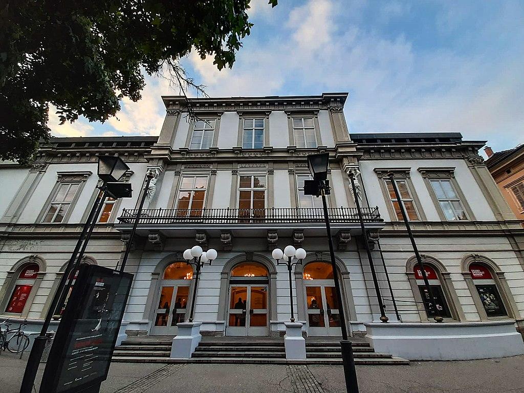 The Maribor opera house. (Photo: Pv21/Wikipedia)