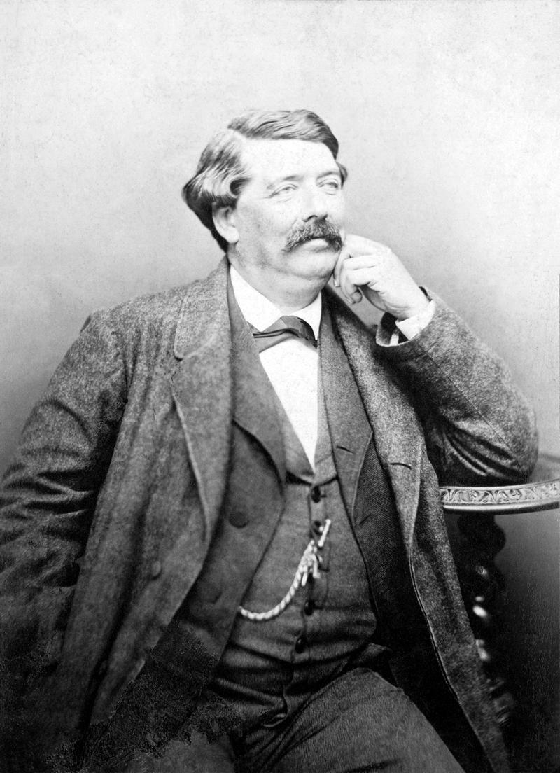 Hippolyte de Villemessant photographed by Nadar.