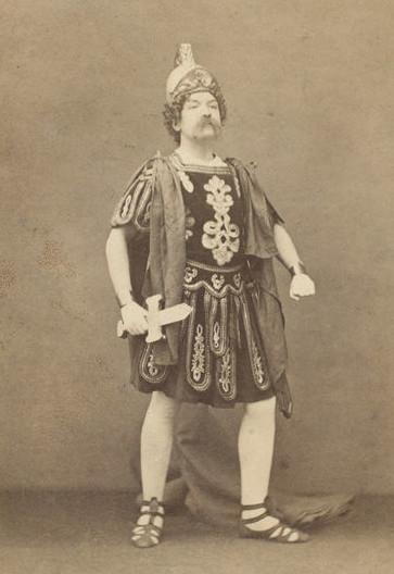 Mr. F. Olivier as Mars. (Photo: Kurt Gänzl Archive)