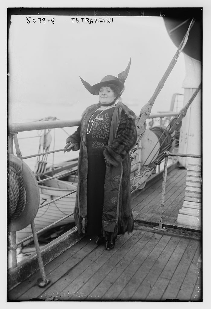 The glorious Luisa Tetrazzini in 1920. (Photo: Wikipedia)