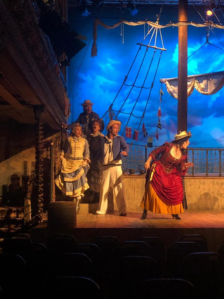 "Opera della Luna's production of ""HMS Pinafore."" (Photo: Opera della Luna)"