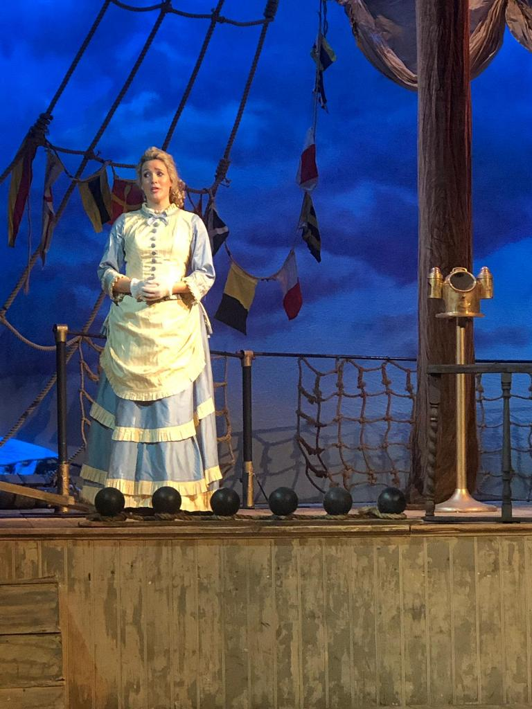"Georgina Stalbow in ""HMS Pinafore."" (Photo: Opera della Luna)"