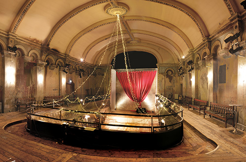 The auditorium of Wilton's Music Hall. (Photo: Wilton's Music Hall/Wikipedia)