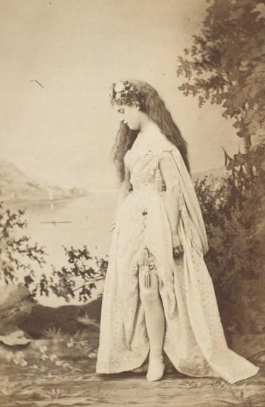 Ada Cavendish as Venus. (Photo: Kurt Gänzl Archive)