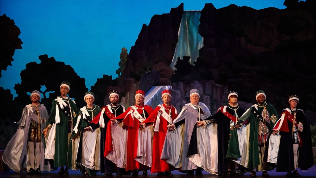 "The male chorus in ""Iolanthe"" in New York (Photo: William Reynolds)"