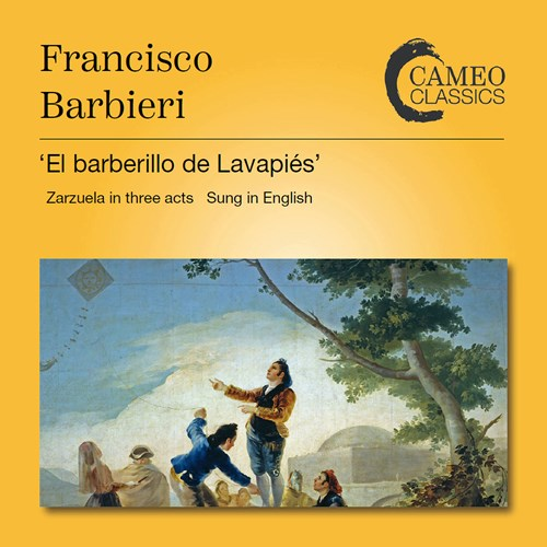 "A new edition of Francisco Barbieri's ""El Barberillo de Lavapies,"" the 1954 BBC studio recording. (Photo: Cameo Classics)"