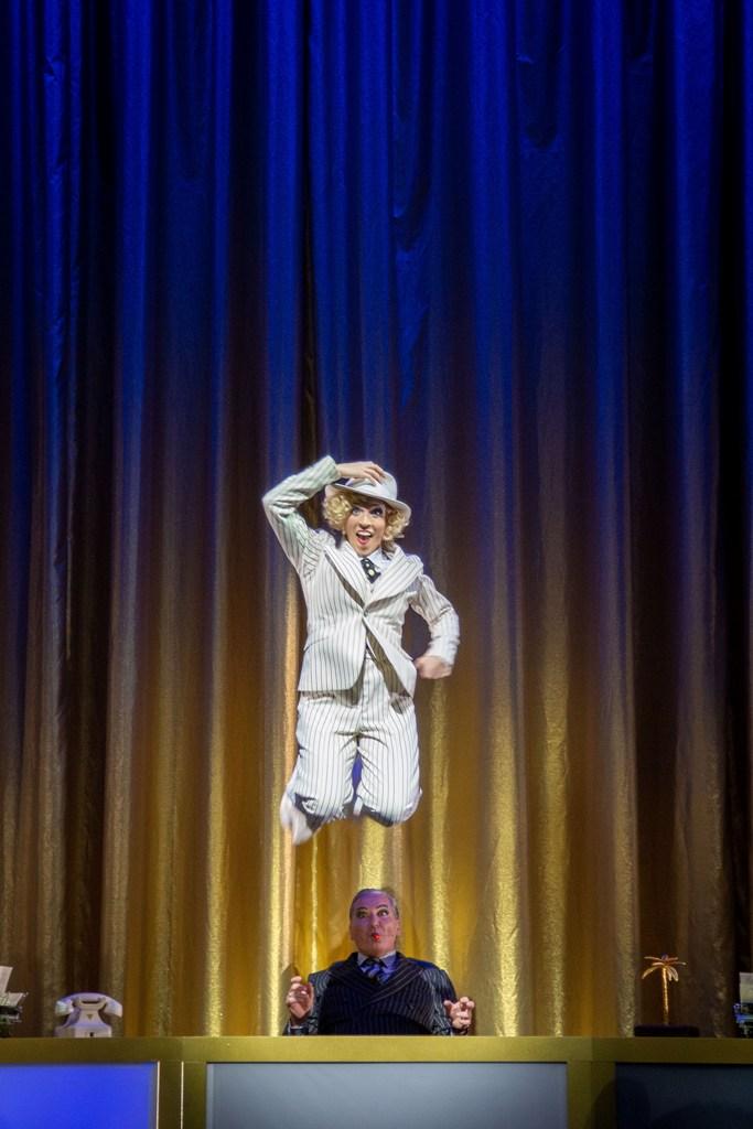 """Valentina Inzko Fink as Marylou in """"Märchen im Grand Hotel"""" in Hannover. (Photo: Kerstin Schomburg)"""