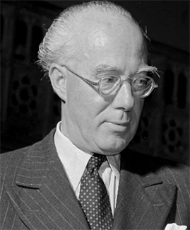 Composer Roberto Gerhard (1896-1970). (Photo: BBC)