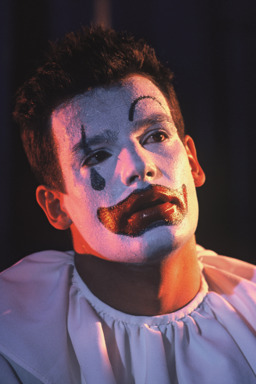 "Scene from Lucas Kazan's ""Pagliacci"" version ""Under the Big Top."" (Photo: www.lucaskazan.com)"