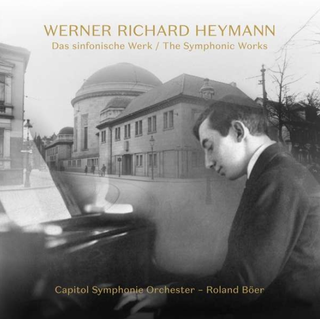 """Werner Richard Heymann: Symphonische Werke"" with the Capitol Symphony Orchestra, conducted by Roland Böer (Photo: Rondeau)"