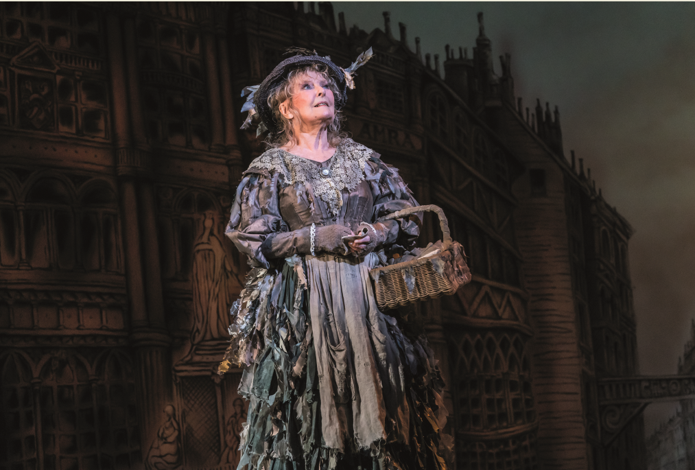 "Petula Clark as The Bird Woman in ""Mary Poppins,"" 2019. (Photo: Johan Persson)"