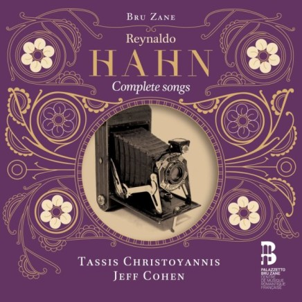 The Songs Of Reynaldo Hahn On Palazzetto Bru Zane