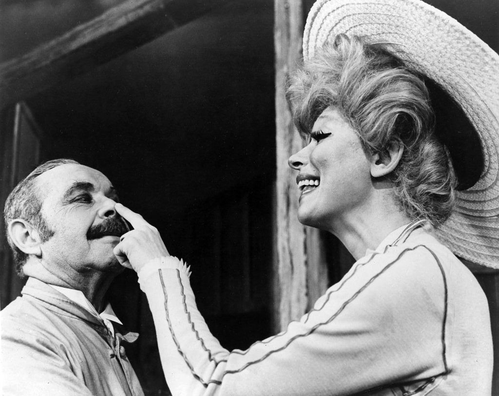 "David Burns and Carol Channing in the original Broadway cast of ""Hello Dolly,"" 1964. (Photo: Publicity Photo / Wikipedia)"