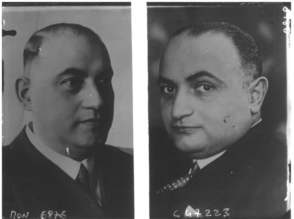 Alfred (l.) and Fritz Rotter in 1933. (Photo: Bibliothèque nationale de France)