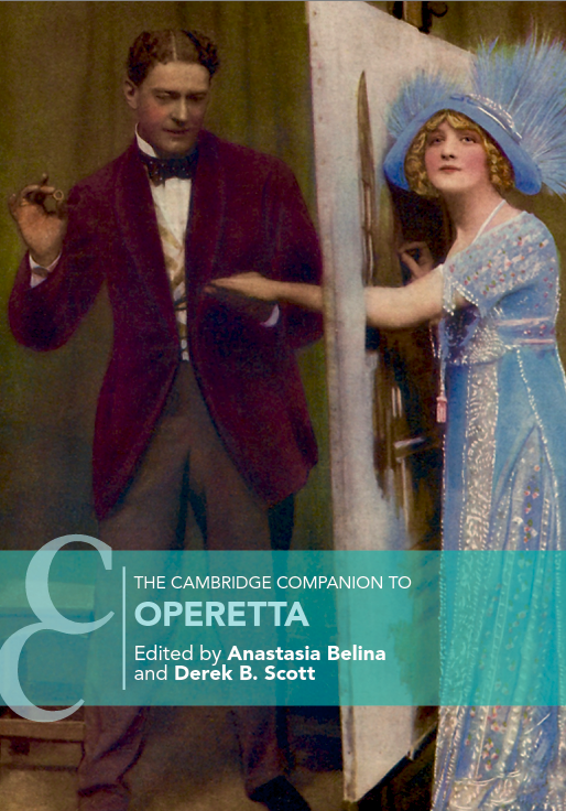 "The cover of ""The Cambridge Companion to Operetta."" (Photo: Cambridge University Press)"