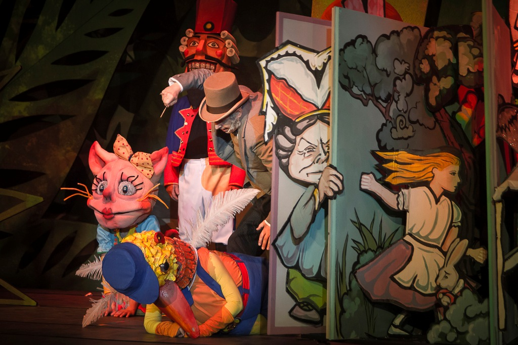 "A scene from the ""Babes in Toyland"" production in Zwickau-Plauen. (Photo: André Leischner)"