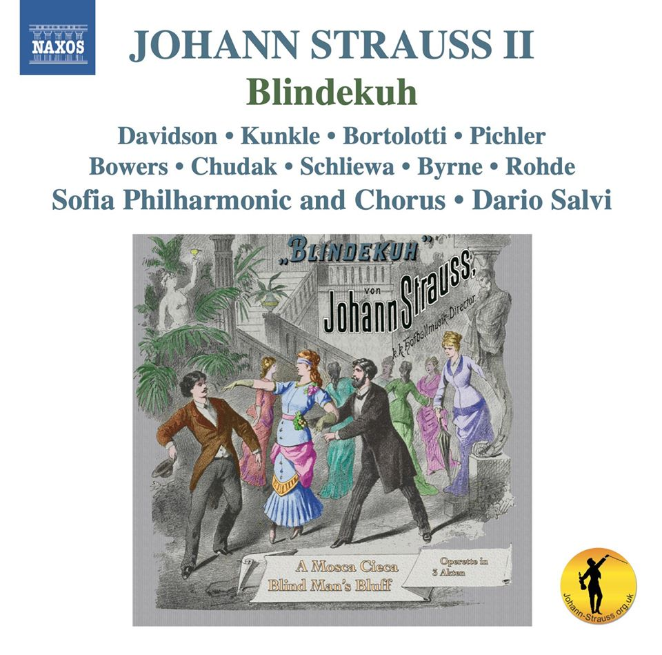 "The cover of the 2020 recording of ""Blindekuh"" on Naxos, conducted by Dario Salvi."