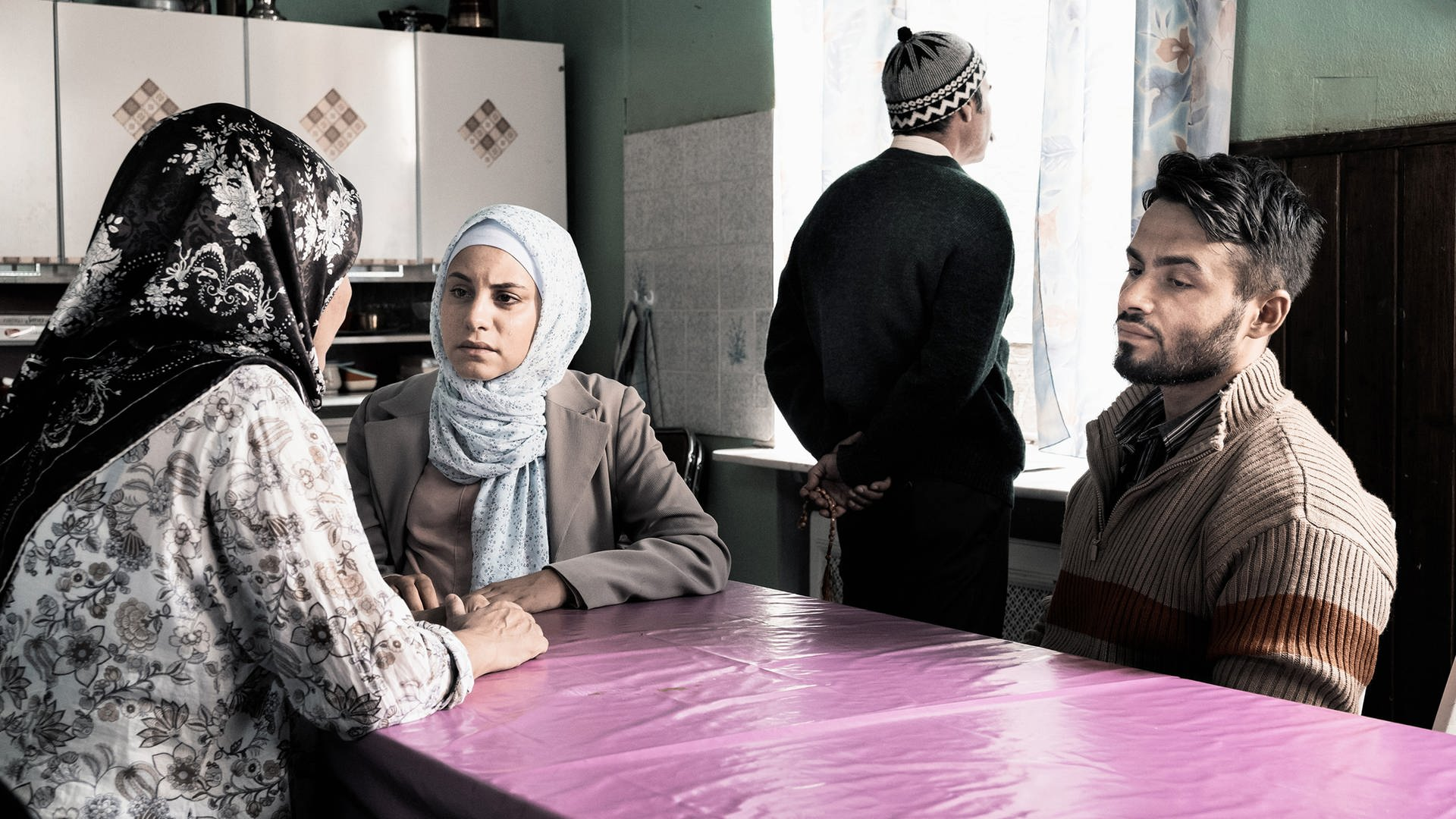 "Scene from the ARD documentary ""Nur eine Frau"" about the ""honor killing"" of Hatun Sürücü. (Photo: ARD)"