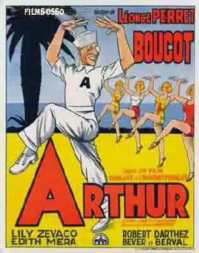 """Plakat zur Filmversion von """"Arthur."""""""