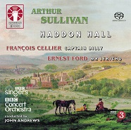 "The CD release of Sullivan's ""Haddon Hall."" (Photo: Dutton Vocalion)"