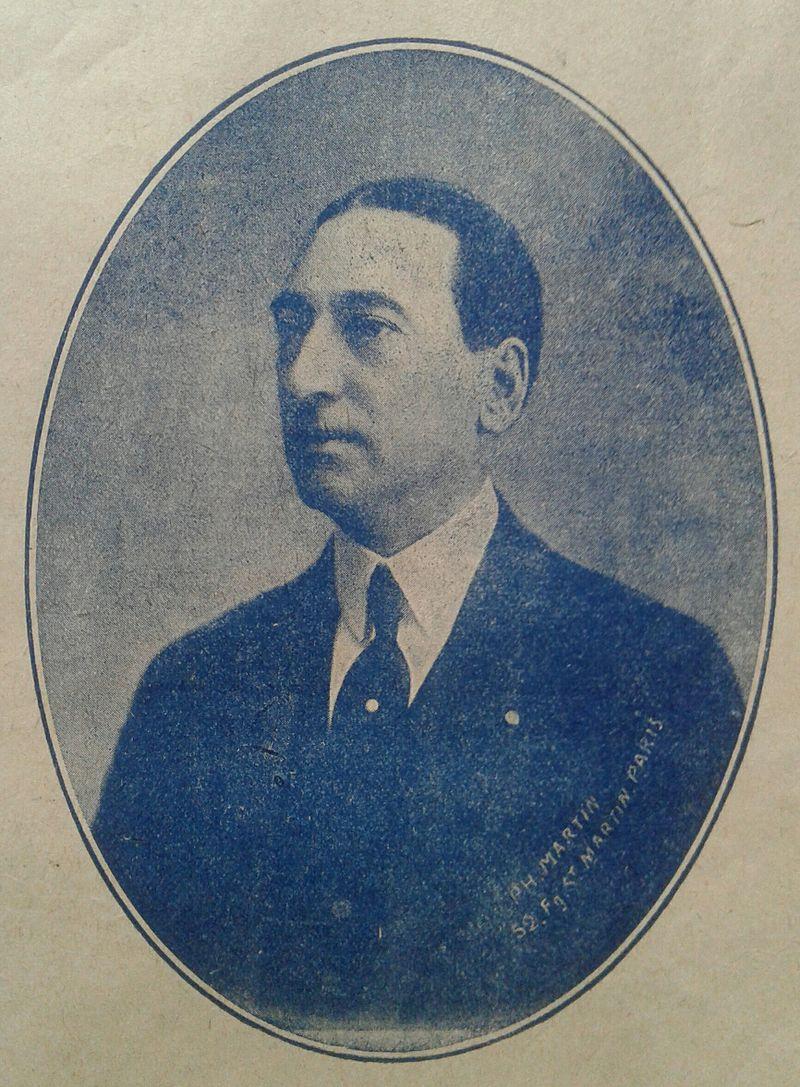 Composer Henri Christiné in 1917.