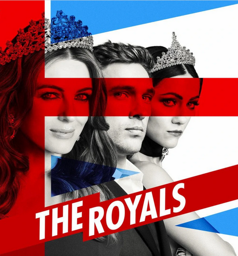 """The TV series """"The Royals"""" with Elizabeth Hurley as the British Queen. (Photo: Lionsgate Television)"""