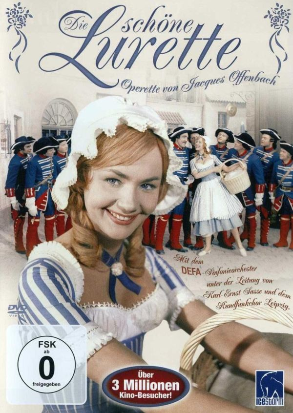 "The DVD version of Offenbach's ""Die schöne Lurette,"" with the 1960 DDR movie. (Photo: Icestorm.de)"