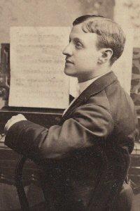 Composer Edward Solomon in 1875.