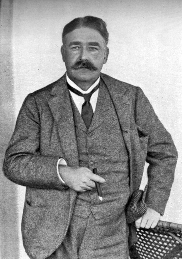 "Photograph of George Edwardes by Ellis & Walery, from the 1914 edition of Cellier & Bridgeman's ""Gilbert and Sullivan and Their Operas."""