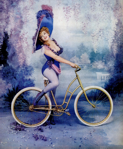 """Marilyn Monroe photographed as Lillian Russell by Richard Avedon, as part of a series called """"Fabled Enchantresses,"""" published in """"Life"""" magazine in December 1958. (Photo: Life / screenshot)"""