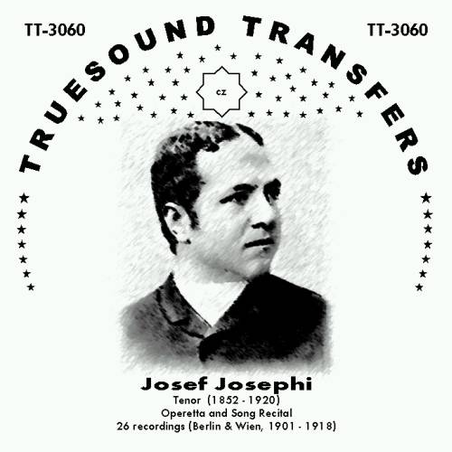 The cover of the Josef Josephi album by Truesound Transfers.