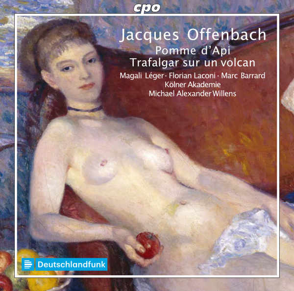 "The cover of the cpo album ""Trafalgar sur un volcan"" and ""Pomme d'Api"" with Kölner Akademie."