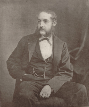 A portrait of Ernest L'Épine from a French newspaper.