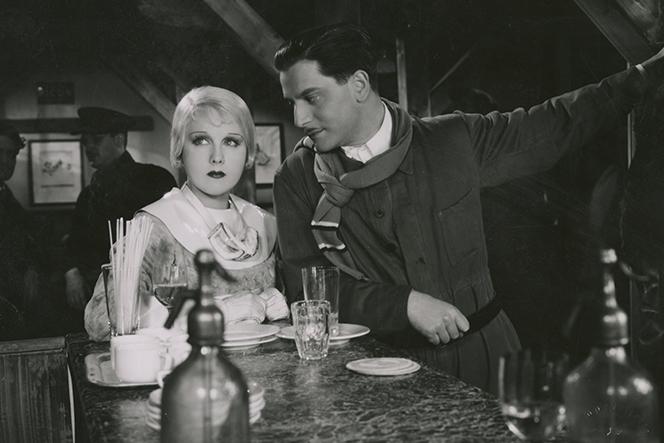 """Anny Ondra and Adolf Wohlbrück in """"Die vertauschte Braut,"""" 19334. (Photo: Zeughauskino Berlin)"""