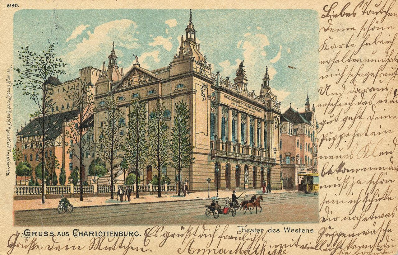 Berlin's Theater des Westens in 1900.