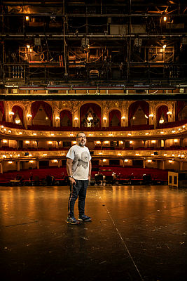 Komische Oper intendant Barrie Kosky. (Photo: Jan Windszus Photography)