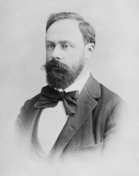 Composer Richard Heuberger in 1894. (Photo: Auguste Wimmer)