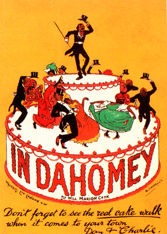 "Advertisement for ""In Dahomey"" when it came to London in 1903. (Photo: Kurt Gänzl Archive)"
