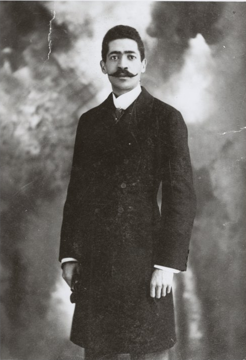 Portrait of composer Will Marion Cook in 1910. (Photo: New York Public Library)