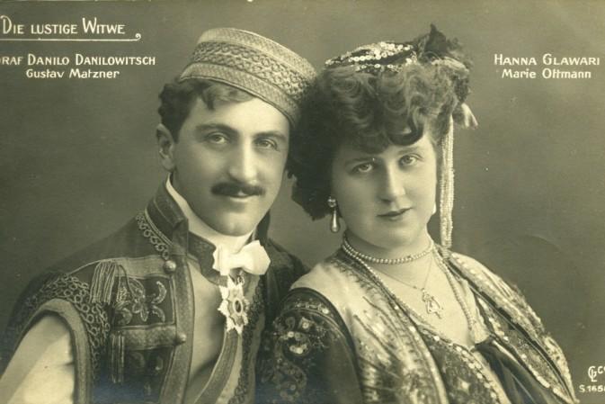 """""""Die lustige Witwe"""": First CD Release Of The Original 1907 Berlin Cast"""